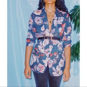 Jackets & Blazers - Vintage Floral Blazer